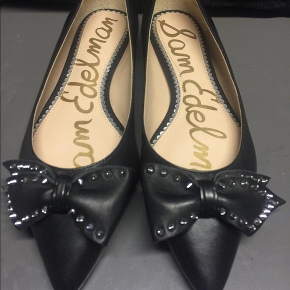 b1065912b0a98 Sam Edelman Shoes - Sam Edelman Raisa Bow Flats